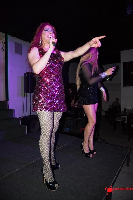 cronos Cena Show Locas con Glamour y Stand Up 45