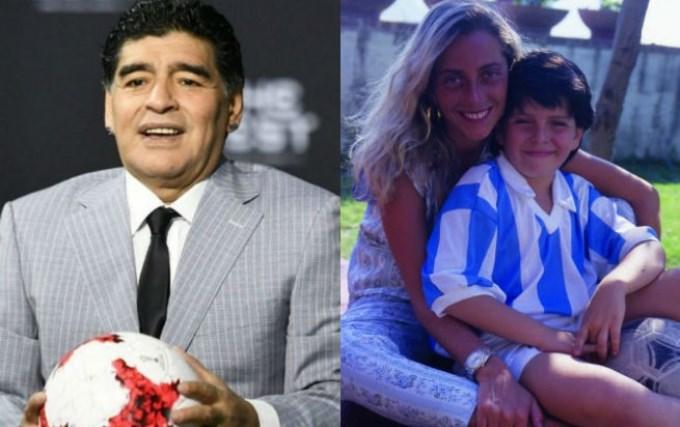 Maradona y Cristiana Sinagra cenaron juntos