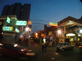 Peatonal Rivadavia de Quilmes